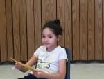 Maya during class