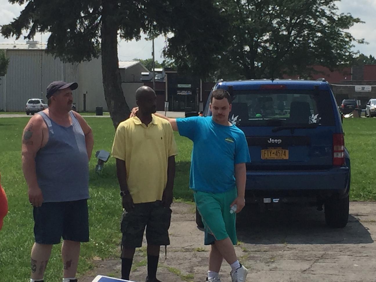 Rob, Mike & Marshaun