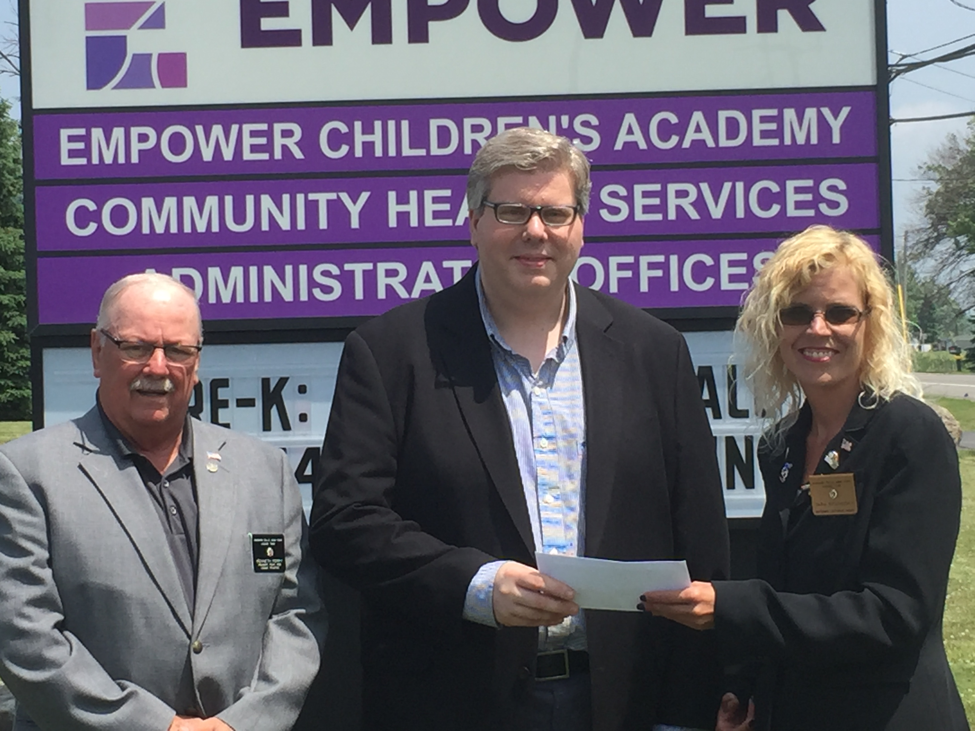 Elks Lodge #346 Donates to Empower