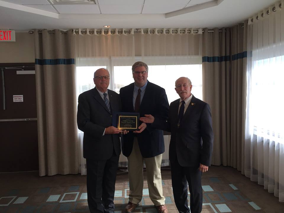 Faithful Funder Awardee: Niagara County Central Rotary Club