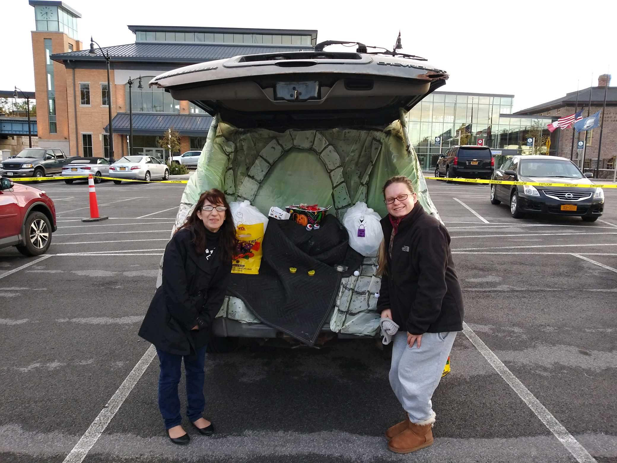 Ms. Amy and Ms. Katie took part in Truck or Treat in the City of Niagara Falls