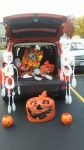 Ms. Margret participated in Truck or Treat in the Town of Lewiston