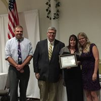 Tina Joynson was recognized for 25 years of service.