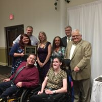 April Alderson received the Robert DiFrancesco Award