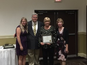 Paulette Rinker was honored for 15 years of service.
