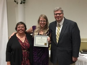Director of Human Resources Kristin Minervini was recognized for her 10 years of service.